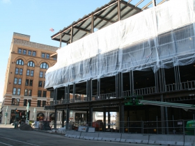 Mercantile Building Expansion Construction