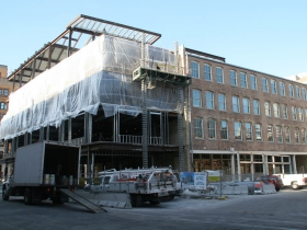 Mercantile Building Expansion Construction