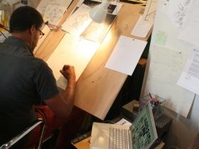 Reginald Baylor at Work