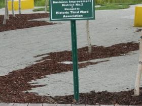 Erie Street Plaza Signage