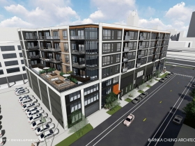 Joseph Property Development Third Ward Apartment Building Rendering
