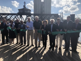 Trestle Park Ribbon Cutting