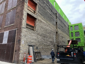 203 N. Broadway Construction