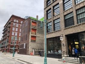 203 N. Broadway Construction