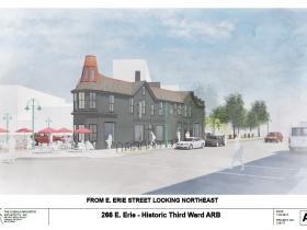 266 E. Erie St. rendering