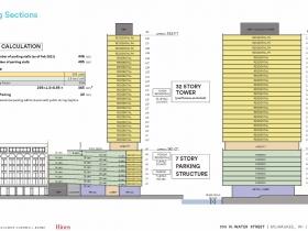 333 Tower Stacking Plan