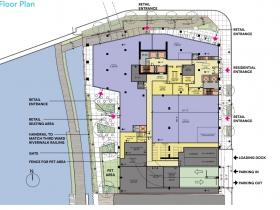333 N. Water St. Site Plan - August 2021