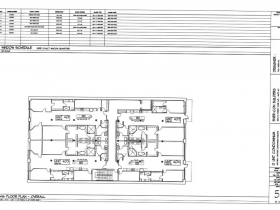 4th Floor Plan.