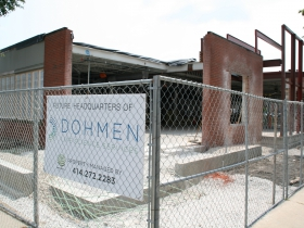 Friday Photos: Dohmen's New Third Ward HQ
