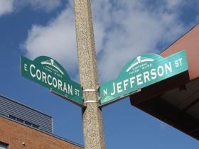 Corcoran St?