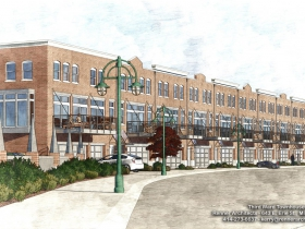 Third Ward Townhouses Rendering