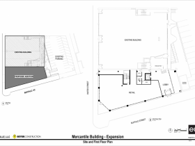 Site and First Floor Plan