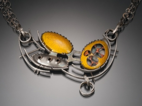 Beth Novak: Orange Necklace