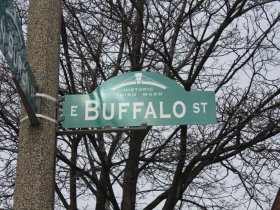 Buffalo Street sign