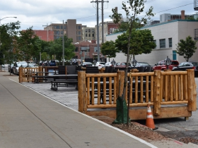 Parklet at Camp Bar - Third Ward