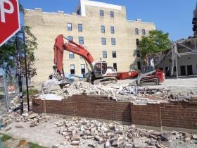 Demolition of 252 E. Menomonee St.