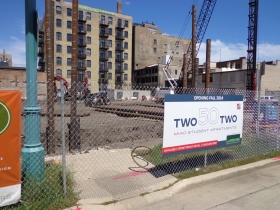 Two50Two is now under construction.