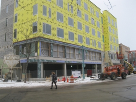 Friday Photos: MIAD Residence Hall Near Finish Line