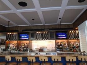 The bar at Tre Rivali
