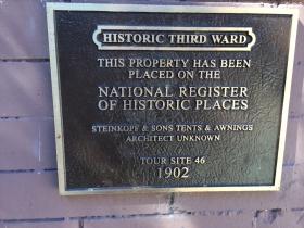 143 N. Broadway Marker
