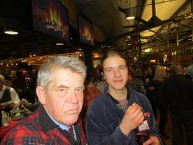 Michael Horne and Sam Davis