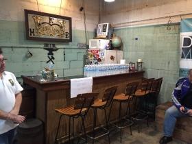 The bar at the Milwaukee Blacksmith