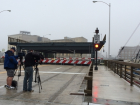 St. Paul Bridge opening.