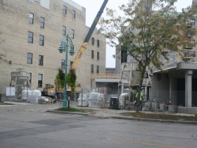 Two50Two Student Apartments Construction