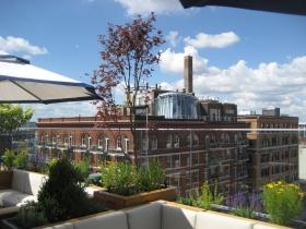 Robert Joseph's rooftop aerie