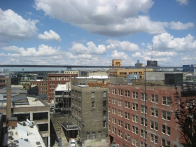 View of the Third Ward from the Kimpton rooftop