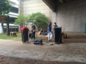 Band under Mason St.