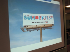 Summerfest 50th Banner