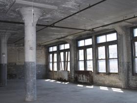 Interior Windows Before Restoration