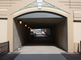 Jefferson Street freeway tunnel