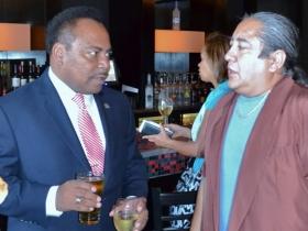 City Treasurer Spencer Coggs, and Juan Carlos