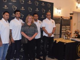 L to R: Alfonso Tinoco, Erick Rubio, Rommel Ramirez and Hugo Barajas of Brew City Legends
