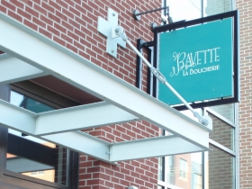 Bavette La Boucherie opened May 1 near the corner of Menomonee St. and Milwaukee St. in the Historic Third Ward. Photo by Peggy Schulz.