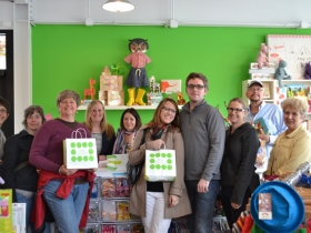 On May 5, 2012, Fund Milwaukee held its first Cash Mob at Little Monsters, a children's clothing and toy store.