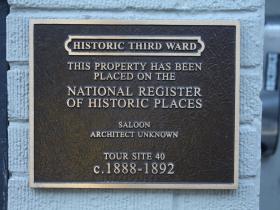 Marker at 266 E. Erie Street