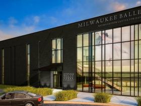 Milwaukee Ballet Baumgartner Center for Dance Rendering