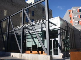 New coffee shop on E. Erie street