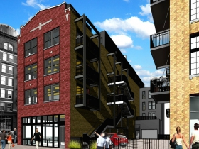 Rendering of 203 N. Broadway