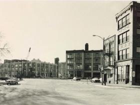 One-way street segment in the Third Ward