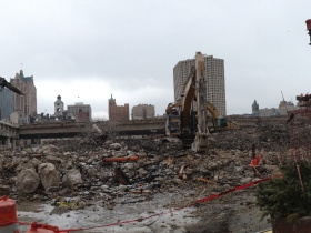 Photo Gallery: I-794 Comes Crumbling Down