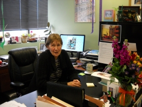 Nancy O'Keefe Executive Director Historic Third Ward Association. Photo by Kim Rhyme. All Rights Reserved.