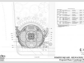 Pompeii Square Plan