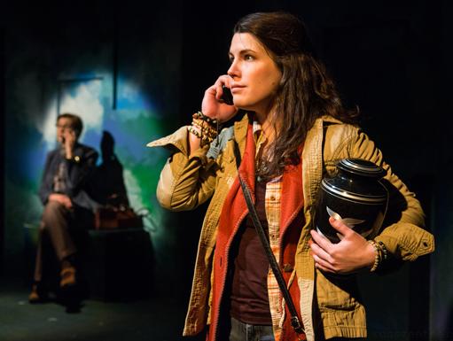 Sara Zientek (foreground); Carrie Hitchcock (background).