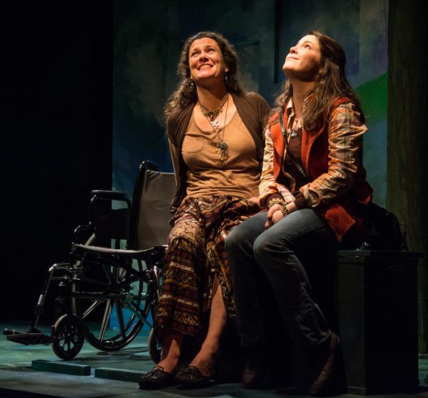 L-R -  Tiffany Vance (Erin) and Sara Zientek (Sky)