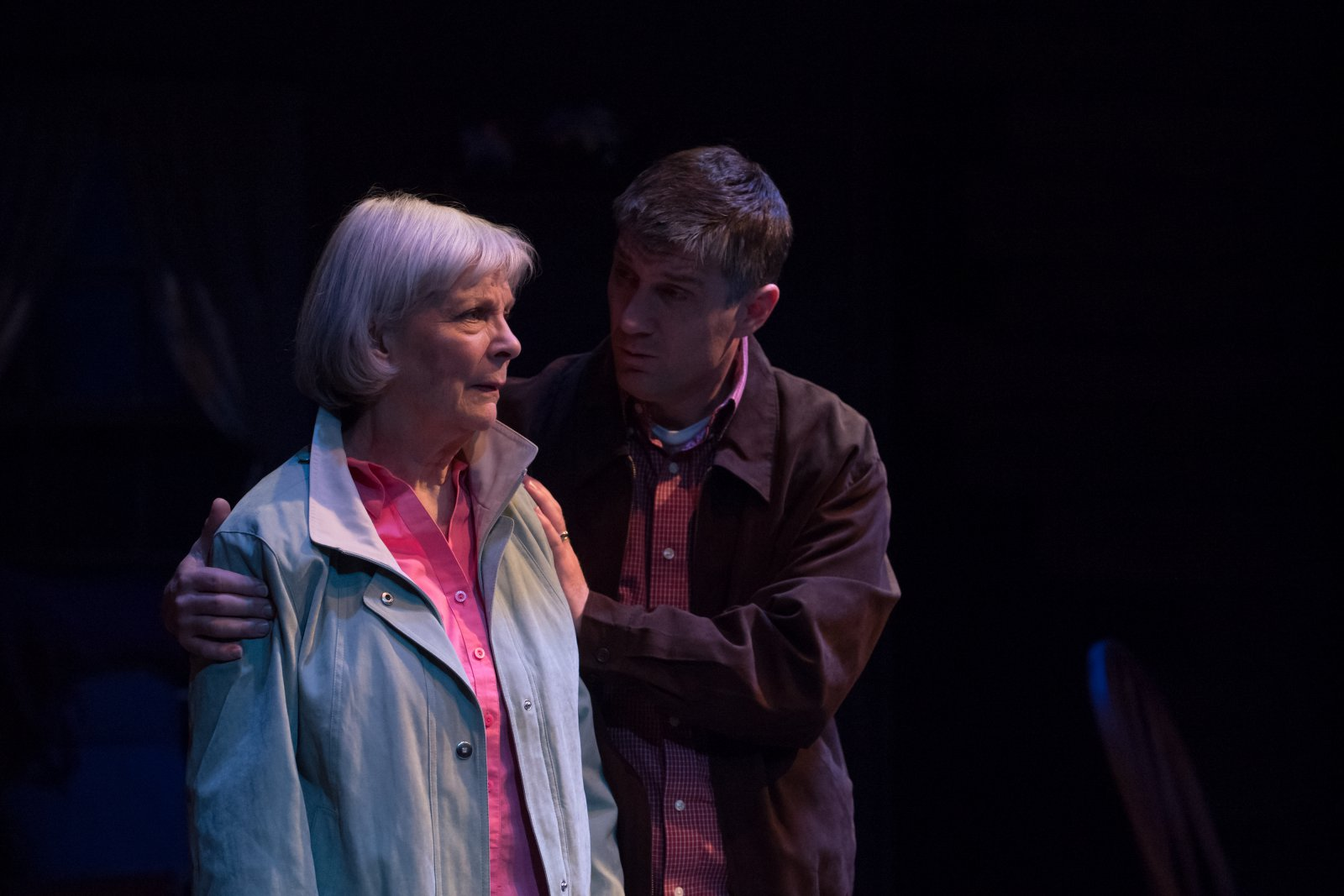 Susan Sweeney (Peg) and Simon Provan (Jack).