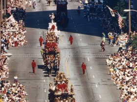 The Circus Parade on Wisconsin Ave., late 1990s